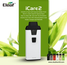 Wholesale Green Metal Buildings - Eleaf iCare 2 Kit New Product from Eleaf iCare Series All in One Kit 2ml Capacity with Top Filling and Built-in 650mAh Battery 100%Authentic