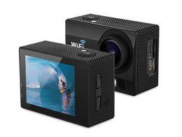 Wholesale Dv Anti Shake - 10pcsAction Camera Q3 2.0 Inch 30M Waterproof Sports Action Camera 12M 1080P Full HD Wi-Fi170 degree Anti-shake DV with Remote Control Watch