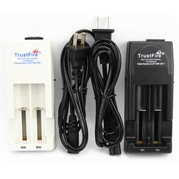 Wholesale Trustfire Batteries - 100% Authentic Trustfire TR001 Battery Charger for 18650 16450 14500 18350 Rechargeable Batteries US UK EU AU PLUG AVIALABLE