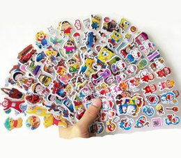 Wholesale Despicable Girls - Boys Girls Favorite Cartoon Despicable Characters Stickers PVC 3 Dimensions High Quality Home Decorate Room Gift