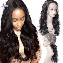 Wholesale Natural Wigs For Women - Brazilian Human Hair Wigs for Black Women Brazilian Body Wave Glueless 360 Lace Frontal Wigs with Baby Hair Natural Hairline Lace Front Wigs