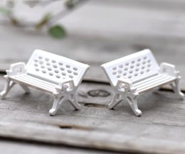 Wholesale Accessories For Decoration - Crafts 30pcs Modern Park Benches Miniature Fairy Garden Miniatures Accessories Toys for Doll House Courtyard Decoration