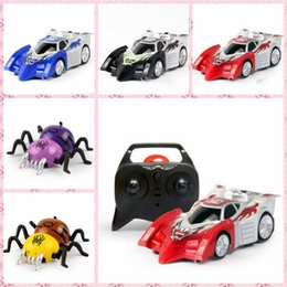 Wholesale Red Strange - 2017 Rascal new remote climbing wall car model stunt car electric children's car hot new strange toys free DHL or SF Express