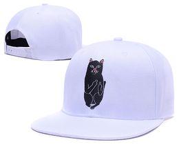 Wholesale Sun Hat Cat - 2016 New fashion cat hat Snapback Cap baseball Caps for men women snapbacks Sports hip hip bones gorra brand sun hats dropshipping wholesale