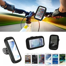 Wholesale Phone Bike Mount Waterproof - Waterproof Bicycle Phone Case for Iphone 6 6s Sports Bike Handle Bar Mount Holder For Iphone 5 6s 6 plus samsung S5 S6 S6 edge S7 S7 edge