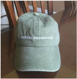 "Wholesale Character Bears - Hot Kendrick Lamar untitled unmastered hats Top dawg entertainment TDE"" snapback cap I Feel Like Pablo kanye weat Ye Bear Dad sun golf caps"