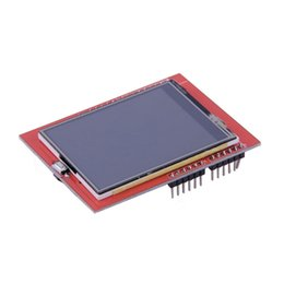 Wholesale Touch Panel Arduino - LCD Modules 1pcs 2.4 inch 2.4 TFT LCD Shield Socket Touch Panel Module for Arduino UNO R3 Promotion <US$10 no tracking