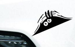 Wholesale Decorate Vinyl - Car Sticker Funny Peeking Monster Sticker vinyl decal decorate sticker Waterproof