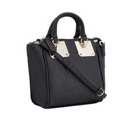 Wholesale European Girls Totes - new arrival fashion women shoulder bag pu leather girl brand Handbag totes NWT Colors BAG14 small