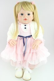 Wholesale Bjd Baby - 28 inch big Toddler Reborn Arianna dolls for kids high quality collectible Baby doll artists' doll