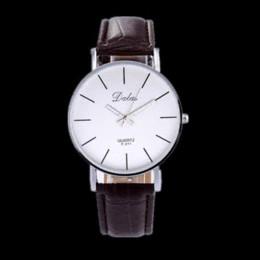 Wholesale Dalas Watches - Women Watch Fashion Dalas Brand Quartz Leather Strap Clock Wristwatch Relojes Feminino Vintage Simple Design Casual Major Watch