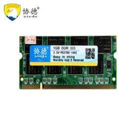 Wholesale Ddr2 Memoria Ram - Xiede 1GB DDR 333 PC2700 CL 2.5 200 PINS LAPTOP Notebook PC DIMM SDRAM sodimm laptop ddr ram 1gb memoria ram ddr2 computer