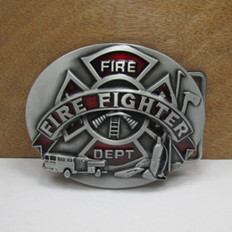 Wholesale Fire Belts - BuckleHome fashion fire fighter belt buckle military belt buckle FP-02459 free shipping