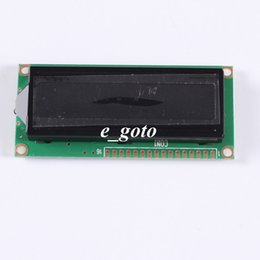Wholesale Character Background - Wholesale-LCD1602A Green Character Dot Matrix LCD Display Module 16x2 Black Background