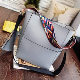 Wholesale Shoulder Strap Bag Leather - New Handbags Women Solid Strap PU Leather Luxury Girl Shoulder Bag Fashion Designer Clutch Bags Portable Bags Sale Female Handbag Totes Bag