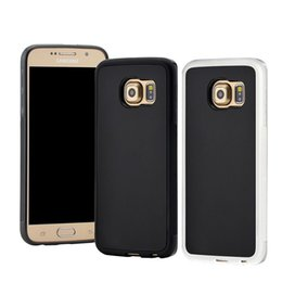 Wholesale Armband For Nano - Hybrid Selfie Magical Anti-gravity Without Being Sticky Nano Suction Cover Case for Samsung S7 S6 Edge Plus Note 7 Anti-gravity case