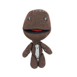 Wholesale Birds Models - 1pc16CM Little Big Planet Plush Toy Sackboy Cuddly Knitted Stuffed Doll Figure Toys Cute Kids Animal Comfort Doll