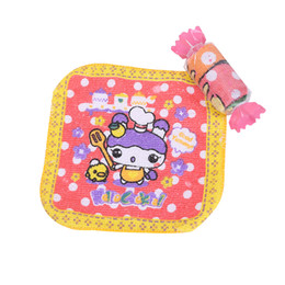Wholesale Towel Shaped Gifts - 2016 Fashion Precious Mini Cartoon Animal Print Wedding Towel Wash Cloth Birthday Gift Candy Shape Towel