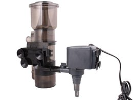 Wholesale Filter Skimmer - Aquarium Protein Skimmer W  530GPH Pump Filter Powerhead Tank Salt Water 150 Gal