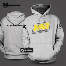Wholesale Dota Hoodie - Wholesale-Ukraine NAVI DOTA 2 hoodies Bunch of Heroes teams fleece pullover jacket Men hoodies winter autumn tracksuits game teams hoodies