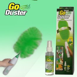 Wholesale Mini Electronic Keyboard - Electric feather duster New Dust Cleaning Brush for Blinds Furniture Keyboard Electronics Multifunctional Electric Green Feather Dusters