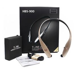 Wholesale Mixed Iphone - HBS 900 Bluetooth Headphones Outdoor Sports Stereo Bluetooth Wireless HBS-900 Headset Headphones No Logo Not Original