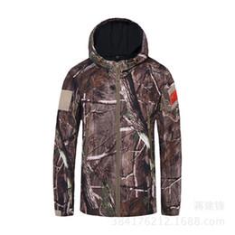 Wholesale Hunting Poncho Rain - Multifunction Camo Waterproof Men Women Motorcycle Rain Poncho for Hiking Hunting Camping Soft Jackets Outdoor Sportwear