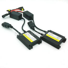 Wholesale Xenon Lights H4 - HID xenon slim ballast 12v 35w blocks ignitor reactor ballastro for car light source headlight H4 H7 H3 H1 H11 xenon ballast 35w
