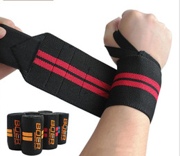 Wholesale Fitness Bandage Bracers Body Wrap Pressurized Power Belt Bracers Weight Lifting Wristbands Bracers