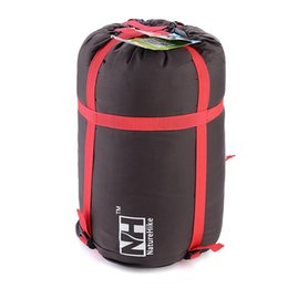 Wholesale Lightweight Duffel Bags - Lightweight Outdoor Sleeping Bag Pack Compression Stuff Sack High Quality Storage Carry Bag For Camping Hiking Mountaineering H210898