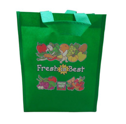 Wholesale White Letter Transfers - Heat transfer non woven shopping bag non woven grocery bag free shipping