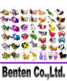 Wholesale Cheap Quality Toys - High Quality Cheap Walking Animal Balloon Inflatable Aluminum Walking Pet Balloon Christmas Decoration Children Toys LLFA9052