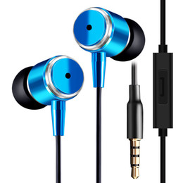 Wholesale Best Microphone Brands - New JMF 3.5mm Earphone In-Ear Earbuds For IPhone 6 5S 4 Samsung Xiaomi MP3 MP4 High Quality Best Bass