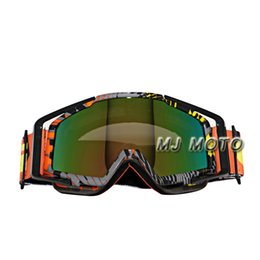 Wholesale Outdoor Bike Cycling Helmet - 2016 New gafas Motocross Goggles Motorcycle Glasses Cycling Outdoor Off Road Moto GP Motorcross Motorbike Bike for helmet