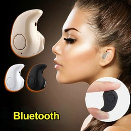 Wholesale Super Light Phone - Mini Bluetooth Earphone Stereo Light Wireless Invisible Headphones S530 Super Headset Music answer call For iPhone 8 X Samsung S8