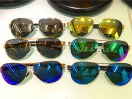 Wholesale Germany Pink - new luxury brand sunglasses germany designer sunglasses IC! Memory Alloy sunglasses pilot frame oversize sunglasses ultralight frame