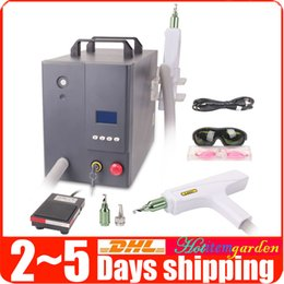 Wholesale Pro Q Switch Yag Laser - Pro Q Switch Eyebrow Freckle Pigment Treatment Tattoo Removal ND-Yag Laser Skin Care Anti-aging Salon Beauty Machine