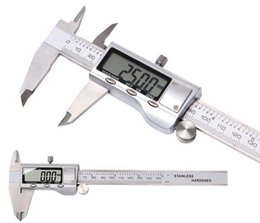 Wholesale digital electronic caliper - Metal 6-Inch 150mm Stainless Steel Electronic Digital Vernier Caliper Micrometer