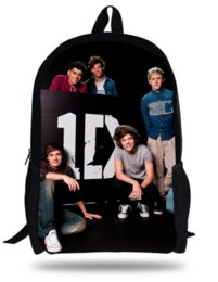 Wholesale Kid 1d - 16-inch Kids Bags Boys 1D One Direction School Bags For Teenagers 1D One Direction Backpack Children Girls Mochilas Infantil