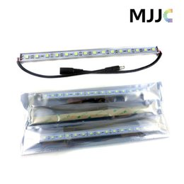 Wholesale Led Strip Cabinet Light Bar - 100PCS X 1M 60 SMD 5050 LED Rigid Strip Light Bar Lamp Warm Cool White Under Cabinet Lighting + 3M Adhesive Tape on Back Side