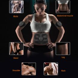 Wholesale Electric Slimming - Wireless Muscle Stimulator Smart EMS Stimulation Trainer Body Fitness Massager Electric ABS Stimulator Wireless Health Care