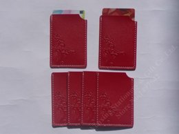 Wholesale Oem Welcome - Wholesale-Free Shipping 5pcs Business vertical card case Artificial leather card holder storage to bank cards ,OEM welcome