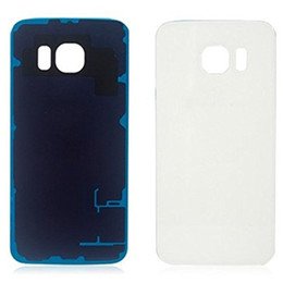 Tampa do Vidro de 300PCS Bateria Voltar tampa da caixa para Samsung Galaxy S6 G9200 S6 Borda G9250 com adesivo livre DHL N-SW de