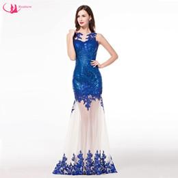 Wholesale Evening Dress Elegant Price - Competitive Price Fashion Brand Promotion Sequin Evening Dress Elegant Ladies Sexy Open Back Design Gown Vestido De Noche