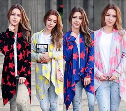 Wholesale Ladies Cashmere Sweater Xl - Fashion Women Clothes 2016 Lady New Autumn Winter Wool Sweater Long Cashmere Cardigan Feamle Loose Sweater Outerwear Coat S-XXL CK1022