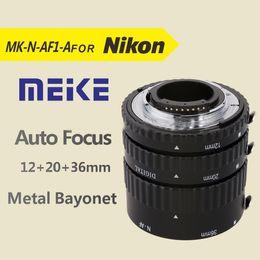 Wholesale Al Ring - Meike MK-N-AF1-Al Adapter Auto Focus Extension tube Ring AF for Nikon D7100 D5200 D3100 D800 D90 D800E D5100 D7000 DSLR Cameras