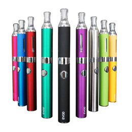 Wholesale Mt3 Ml Atomizer - Multi Color EVOD MT3 Starter Kit Electronic Cigarettes Ego Blister Kit 650mah 900mah 1100mah 2.4 ml Atomizer Huge Vapour E-cigarette Kits