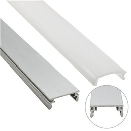 Wholesale Aluminium Profile - 10set lot 2m led aluminium profile for led bar light, led strip light aluminum channel, waterproof aluminum housing U shape
