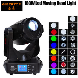Wholesale Movement Lights - TIPTOP TP-L680 180W Led Moving Head Light Same Power Output 700W Discharge Smooth Pan Tilt Motor Movement Speed Adjustable Gobo Wheel Change