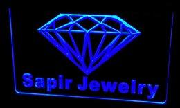 Wholesale New Diamond Neon - Ls212-b Sapir Jewelry Diamond OPEN NEW Neon Light Sign.jpg